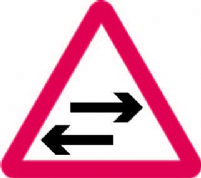 2 Way Traffic Crosses